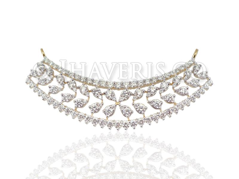 Welcome to jhaveris jewellery diamond mangalsutra pendants unique jewellery diamond mangalsutra pendants jdtn020 click to enlarge image next aloadofball Images
