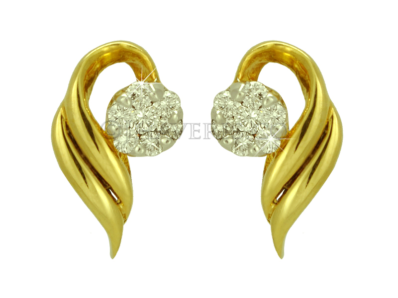 Lovely Gold Earring tops Pic   Jewellry\'s Website